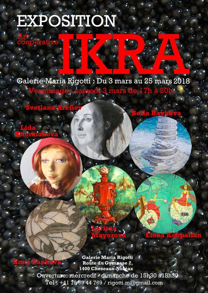 Exposition IKRA – 3 mars 2018