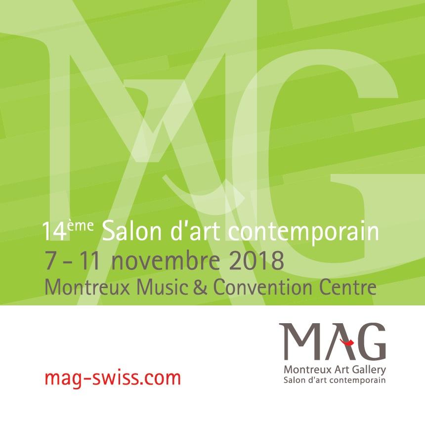 14ème salon d'art contemporain MAG 2018
