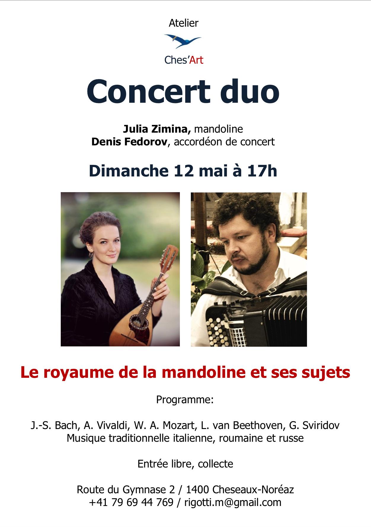 Concert 12 mai 2019