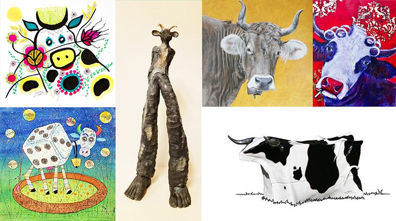 Printemps Vache – Exposition du 7 au 22 Mars 2020 – Atelier Ches'art